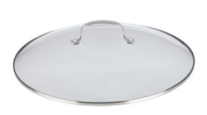 Glass Lid with Stainless Steel Handle