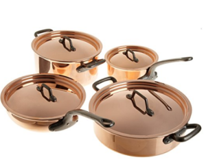 Matfer Bourgeat Coppe Cookware Set