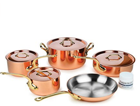 Mauviel M Heritage 1830 Copper Cookware Set