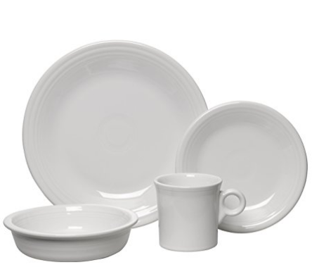 White Fiesta Dishware