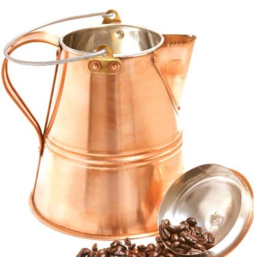 Copper Hand Made Coffee Pot