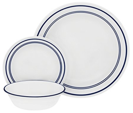 corelle-classic-cafe-blue-dinnerware-set-no-cups  sc 1 st  Skillet Love & 19 Dinnerware Sets Made In The USA | Skillet Love