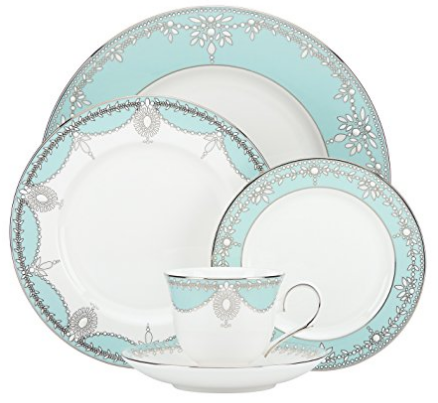 lennox-turquoise-bone-china  sc 1 st  Skillet Love & 19 Dinnerware Sets Made In The USA | Skillet Love