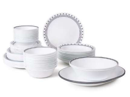 modern-corelle-city-block-dishes  sc 1 st  Skillet Love : white dinnerware sets for 12 - pezcame.com