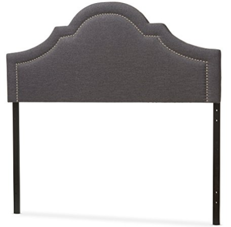 arched-dark-gray-studded-headboard