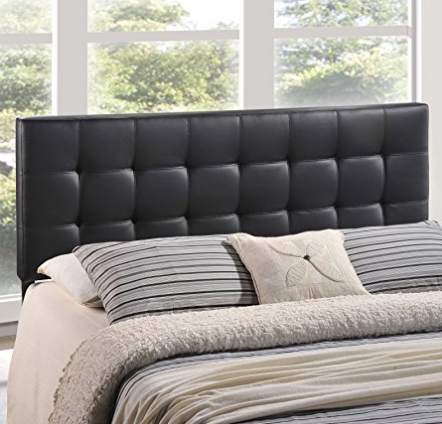 black-pleather-headboard