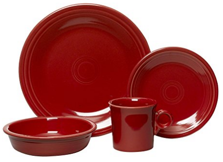 Exceptional Solid Red Dinnerware Sets