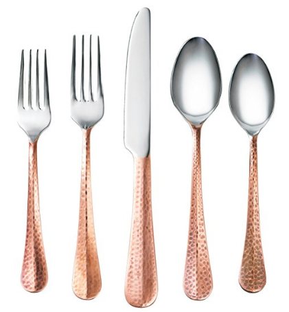 copper-flatware
