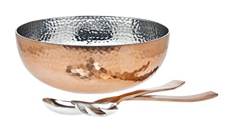 hammered-copper-serving-bowl